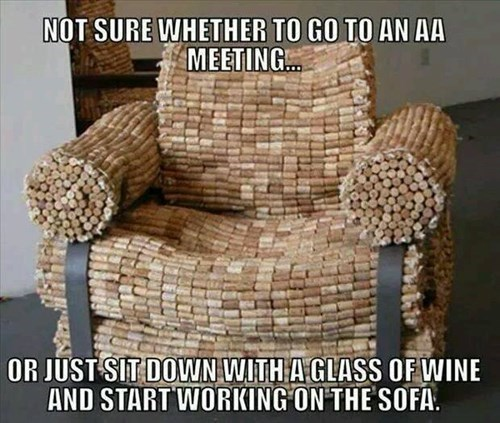 Just Keep Working on That Comfy Chair