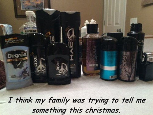 christmas,deodorant