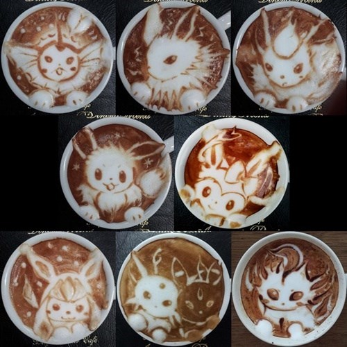 If You Have Any Evolution Stones for Your Latte, You Get This!
