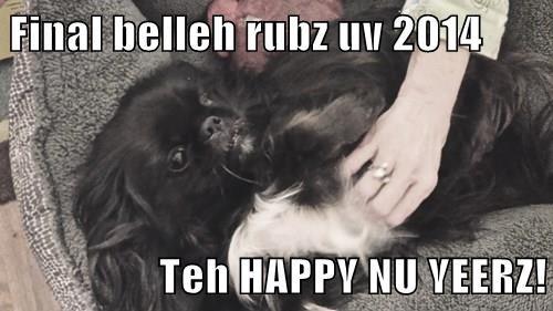 Final belleh rubz uv 2014  Teh HAPPY NU YEERZ!