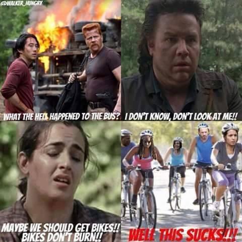 bikes,cardio,The Walking Dead