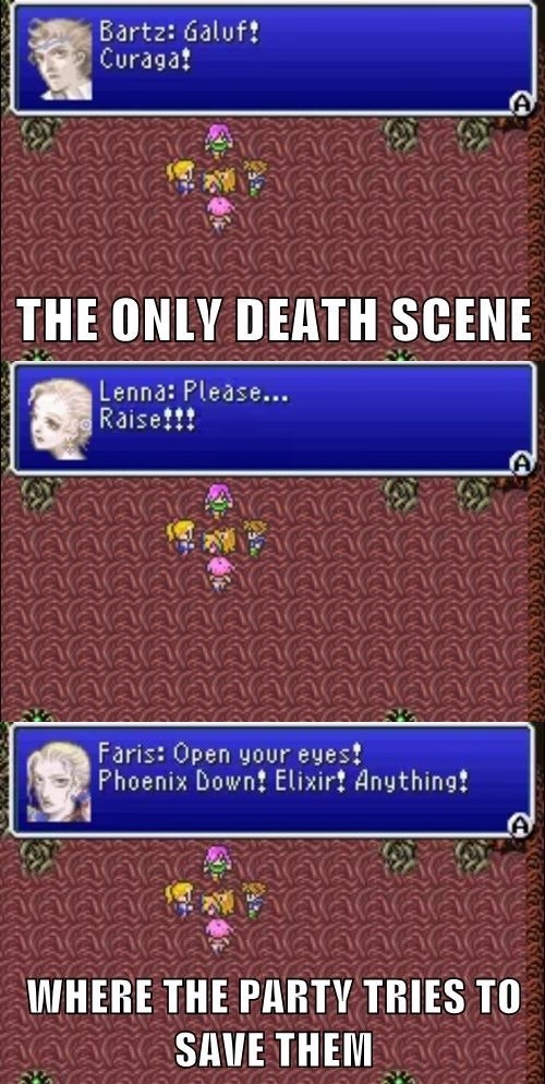 The Only Death Scene in Final Fantasy That Makes Sense