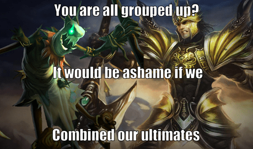 """""""Group Up"""" They Said..."""