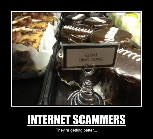 INTERNET SCAMMERS