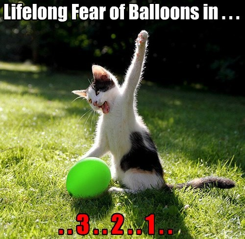 Lifelong Fear of Balloons in . . .