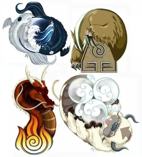 Elemental Animals
