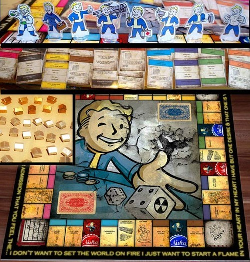 Own The Wastelands In Fallout Monopoly