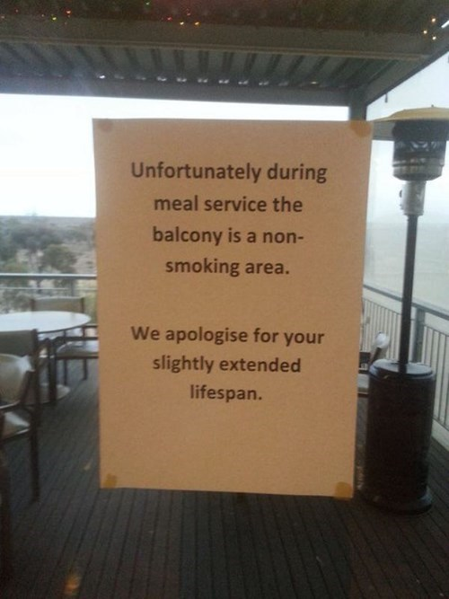 We Apologize For the Convenience