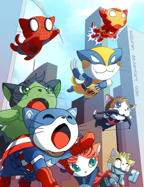 Meowvel's Avengers