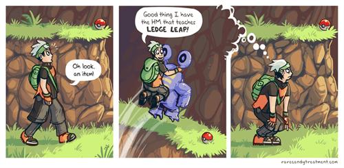 Pokémon,ledges,hm,web comics