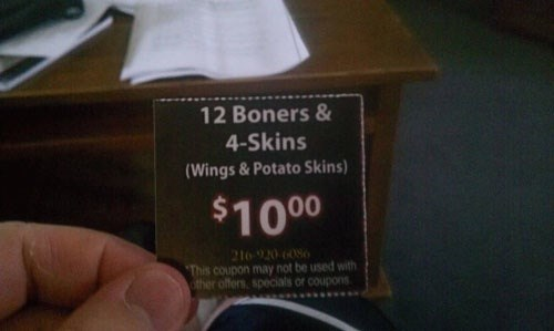 coupon,I see what you did there,monday thru friday,restaurant,g rated