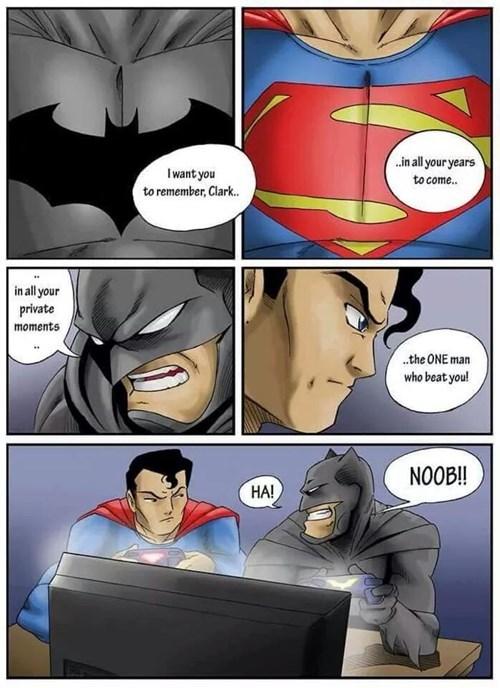 Batman Got The Blue Shell