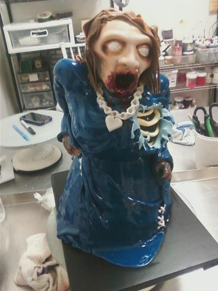 Customers Actually Rejected This Zombie Cake for Being TOO Accurate!