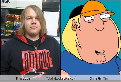 This dude Totally Looks Like Chris Griffin