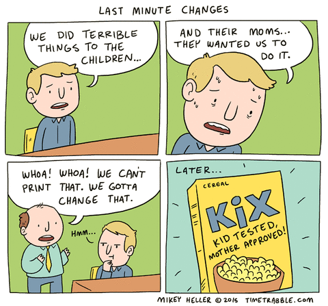 in this economy,work,sad but true,kix,cereal,web comics