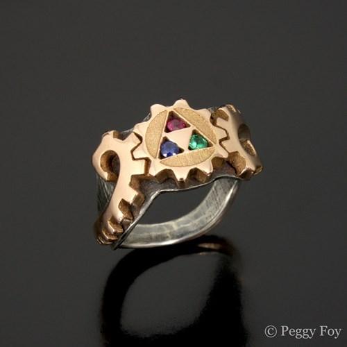 Steampunk,legend of zelda,for sale,ring