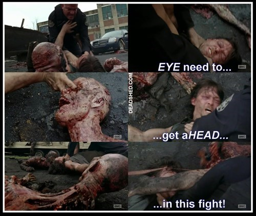 daryl dixon,improvised weapon,zombie,The Walking Dead