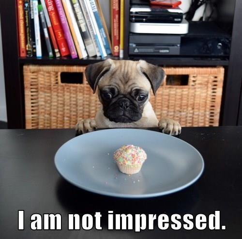 I am not impressed.