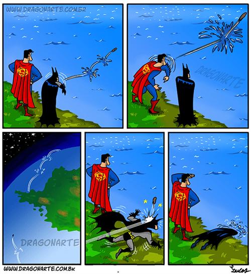Batman v Superman: Dawn of Beach Day