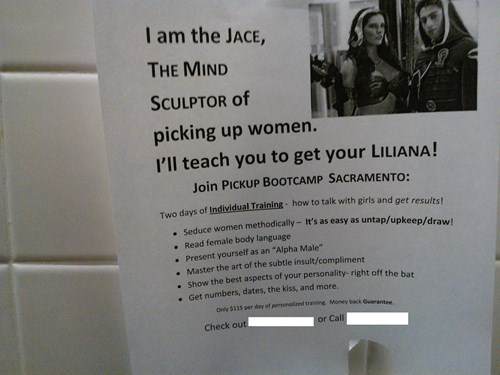 Found in the Men's Bathroom at a 'Magic: The Gathering' Tournament