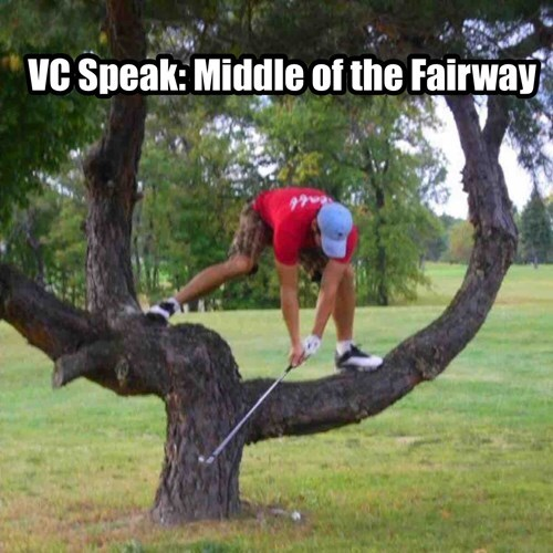 Is this the middle of the fairway?