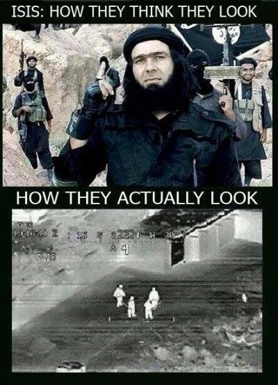 ISIS Fighters: Expectation vs. Reality