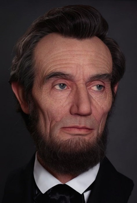 makeup,abraham lincoln,realistic
