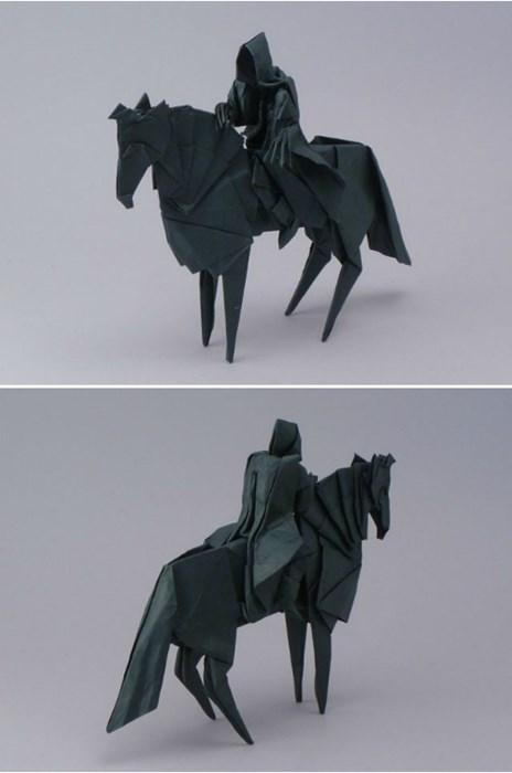 No Man Shall Kill The Origami Nazgul