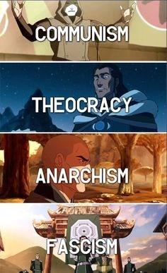 Korra Villains & Their Ideologies