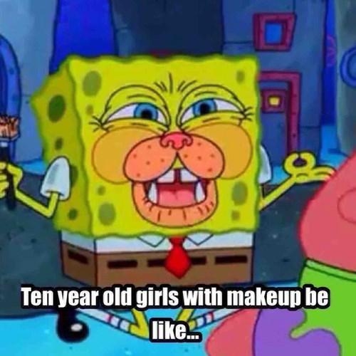 Makeup be like...