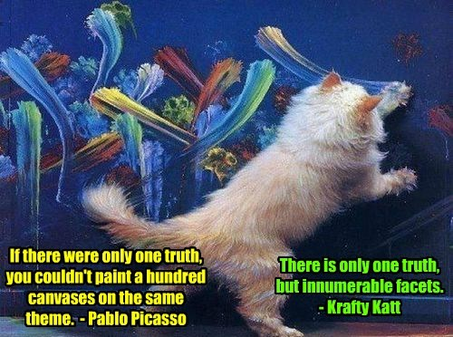 Krafty paints a masterpiece..