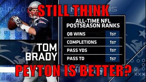 STILL THINK  PEYTON IS BETTER?