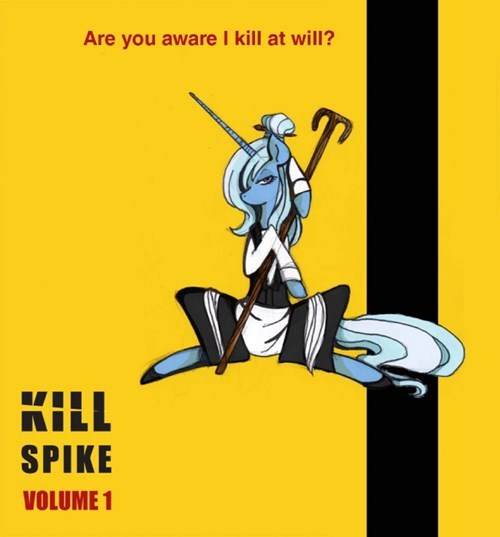 spike,ponify,Kill Bill
