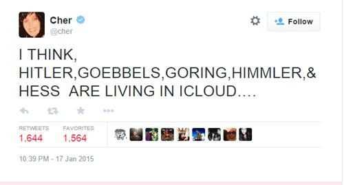 twitter,what,celeb,cher