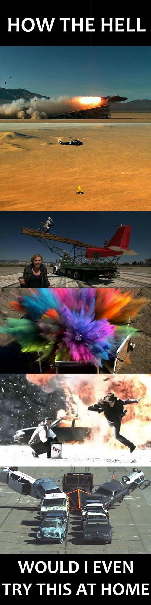 Mythbusters Doesn't Make a Whole Lot of Sense Sometimes