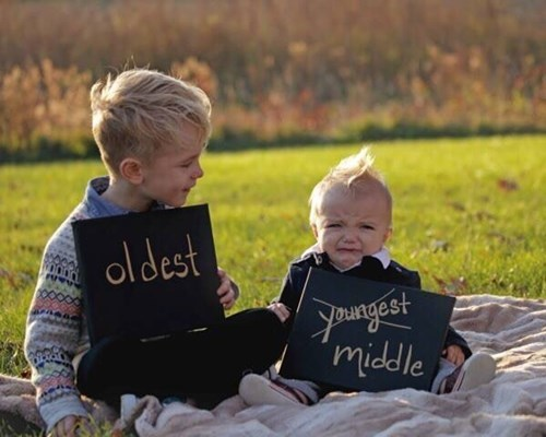 baby,kids,sibling rivalry,siblings,expression,parenting,pregnant,announcement