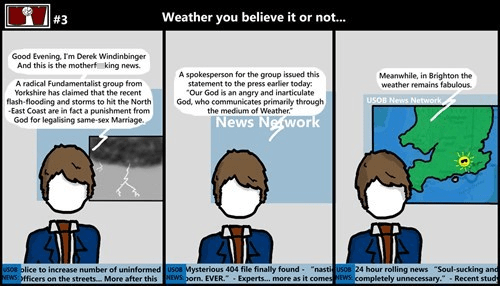 news,weather,web comics