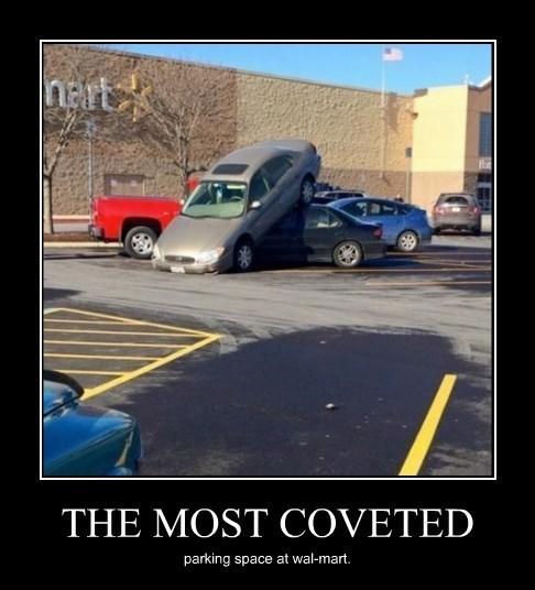 wal mart,idiots,funny,parking