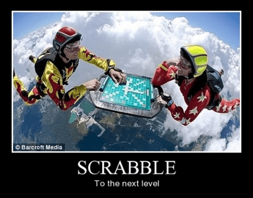 skydiving,scrabble,funny