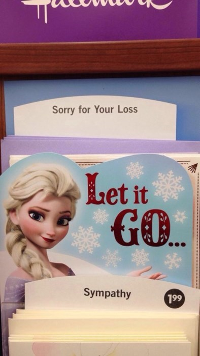 Get Over It, Just Like Elsa Did!