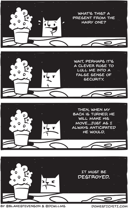 Cats,gifts,web comics