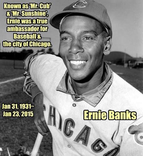 Rest Easy, Ernie.