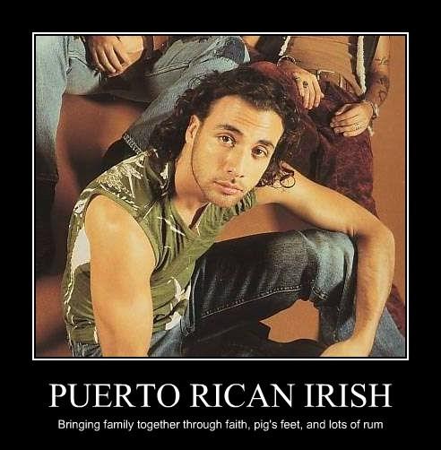 PUERTO RICAN IRISH