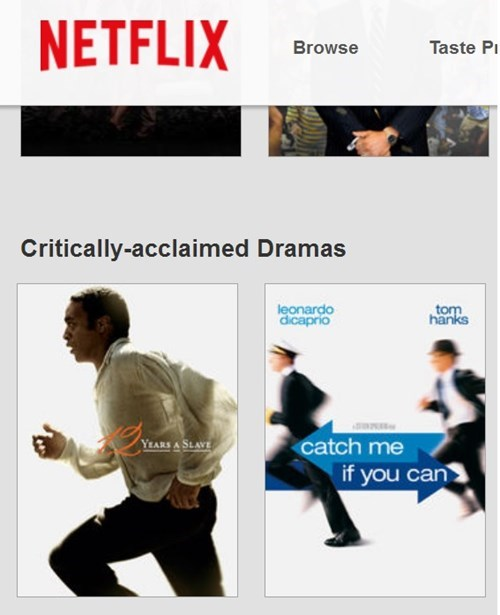 You Did That on Purpose, Netflix