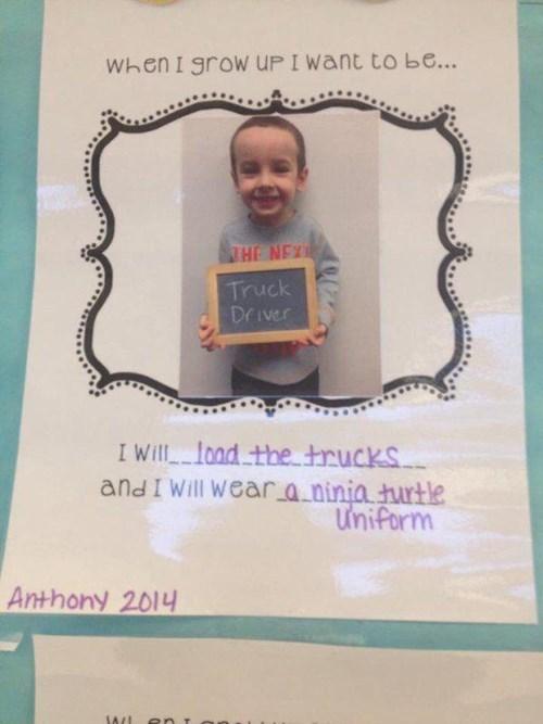 Dream Big, Anthony!