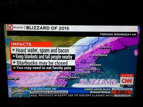 Pro Blizzard Tips, Courtesy of CNN