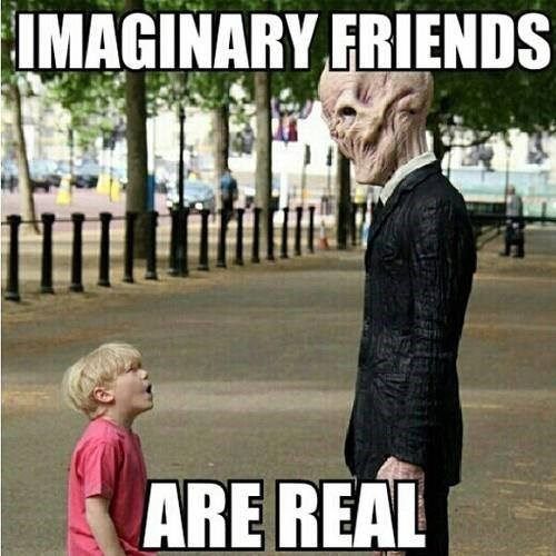 imaginary friends,kids,the silence