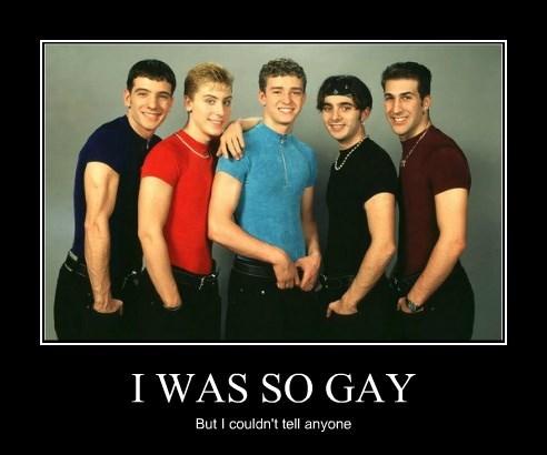 I WAS SO GAY