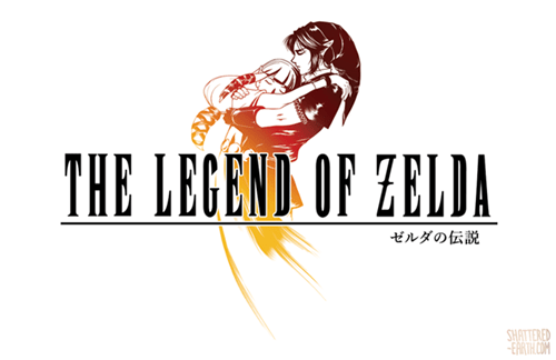 final fantasy,logos,the legend of zelda