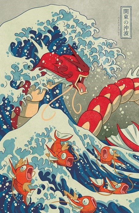 The Great Wave of Kanto